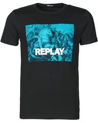 Replay T-Shirt M3412-2660 - Nero