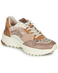 COACH Lage Sneakers C143 Runner - Meerkleurig
