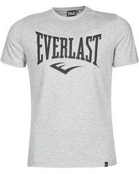 Everlast T-shirt Korte Mouw Evl Louis Ss Ts - Grijs