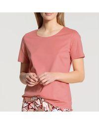 CALIDA Tee-shirt de pyjama Favourite Joy T-shirt - Rose
