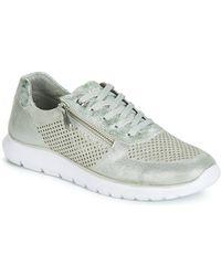 Marco Tozzi Lage Sneakers Toupiste - Grijs