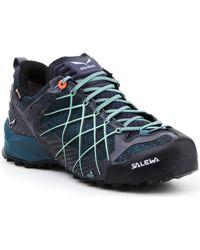 Salewa Buty trekkingowe Wildfire GTX 63488-3838 Chaussures - Bleu