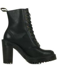 Dr. Martens Low Boots Kendra Black Sendal - Zwart
