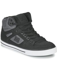 DC Shoes Hoge Sneakers Pure High-top Wc Tx Se - Zwart