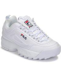 Fila Lage Sneakers Disruptor Low Wmn - Wit