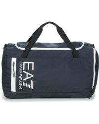 EA7 Sporttas Train Core U Gym Bag B - Blauw