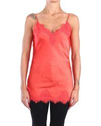 Pink Memories 10913 dèbardeurs Femme Orange Debardeur