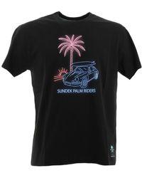 Sundek NEW PALM RIDERS T-shirt Noir T-shirt