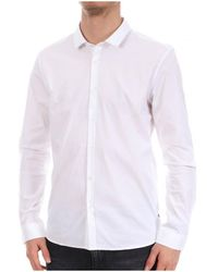 Teddy Smith Camisa manga larga - Blanco