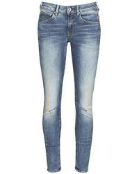 G-Star RAW ARC 3D Mid Waist Skinny Jeans - Azul