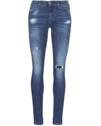 DIESEL Skinny Jeans Slandy - Blauw