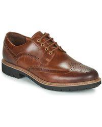 Clarks Zapatos Hombre BATCOMBE WING - Marrón