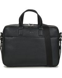 Calvin Klein CALVIN CENTRAL 2G LAPTOP BAG - Negro