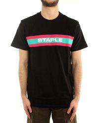 Staple Camiseta 2102C6480 - Negro
