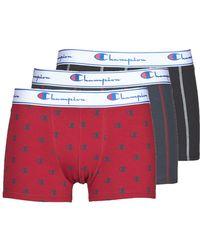Champion Boxer Legacy X3 Boxer Shorts - Red