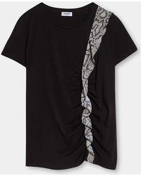 Liu Jo - Camiseta WF1013 J7821 - Lyst