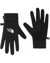 The North Face Handschoenen Mens E-tip Guante Negro/blanco - Zwart