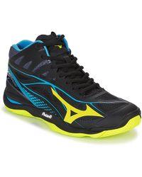 Mizuno WAVE MIRAGE 2.1 MID hommes Chaussures en Noir