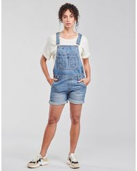 Pepe Jeans Tute / Jumpsuit Abby Fabby - Blu