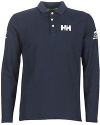 Helly Hansen Polo Shirt Lange Mouw Hp Shore Ls Polo - Blauw