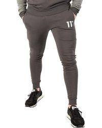 11 Degrees - Men's Skinny Joggers, Grey Men's Sportswear In Grey - Lyst