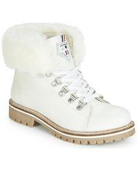 Les Tropéziennes Par M Belarbi LACEN femmes Boots en blanc