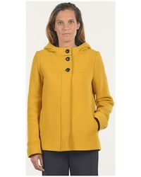 Mat De Misaine - Fanon Women's Coat In Yellow - Lyst
