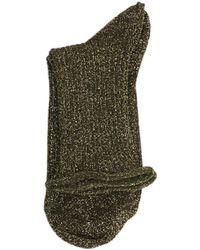 Polder - Rika Socks 49083 Gold Women's Socks In Gold - Lyst