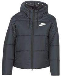 Nike Donsjas W Nsw Syn Fill Jkt Hd - Zwart