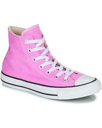 Converse Hoge Sneakers Chuck Taylor All Star Seasonal Color - Roze