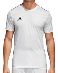 adidas T-shirt Korte Mouw Core 18 Training Jersey - Wit