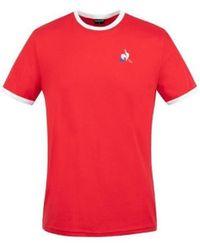 Le Coq Sportif T-shirt Homme T-shirt - Rouge