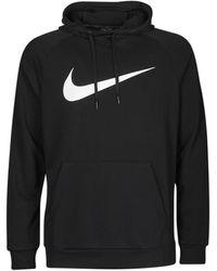 Nike Felpa Dri-Fit - Nero