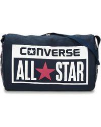 Converse - Legacy Barrel Duffel Bag Women's Sports Bag In Blue - Lyst