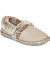 Skechers Pantofole Cozy Campfire - Neutro