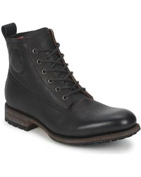 Blackstone MID LACE UP BOOT Boots - Noir