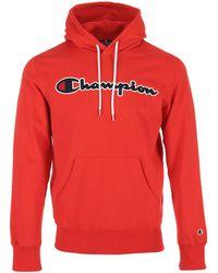 Champion - Sweater Hoodie Sweatshirt - Lyst