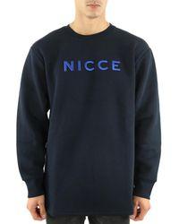 Nicce London Sweat Sweat-shirt - Bleu