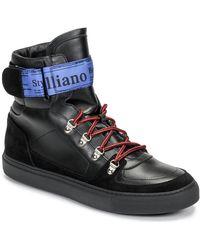 John Galliano 8526 Chaussures - Noir