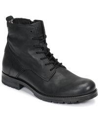 Jack & Jones Laarzen Jfw Orca Leather - Zwart