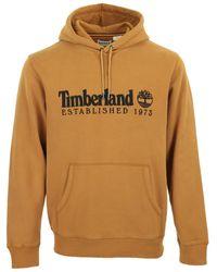 Timberland Jersey Heritage Est. 1973 Hoodie - Marrón