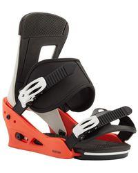Burton Snowboard Bindings Freestyle Accessoire sport - Rouge