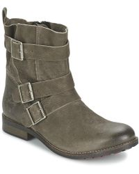 S.oliver - Bexune Women's Mid Boots In Brown - Lyst