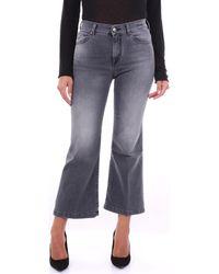 Jacob Cohen Bootcut Jeans Fridacrop1292 - Grijs