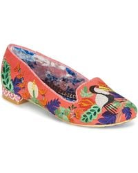 Irregular Choice Ballerina's Yes You Peli Can - Oranje