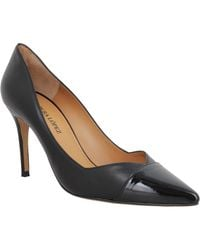 Pura López AP127 cuir Femme Noir Chaussures escarpins