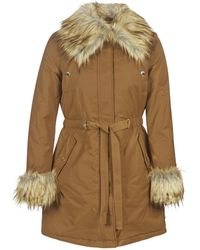 Marciano New Glam Parka - Brown