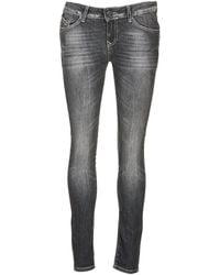 Volcom - Oily Women's Skinny Jeans In Black - Lyst