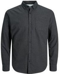 Jack & Jones Camicia Button-Down - Grigio