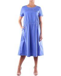 Aspesi H614D307 Robe - Bleu